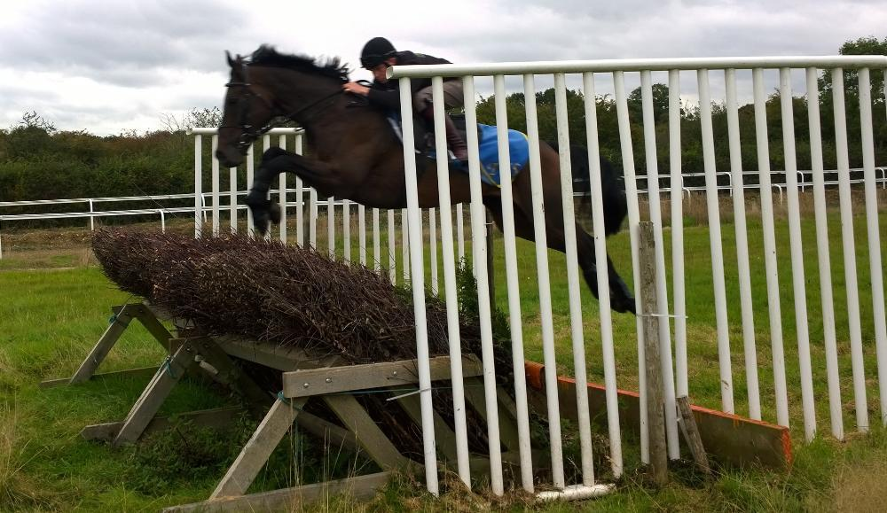 Sky Watch & Tom flying the ditch!